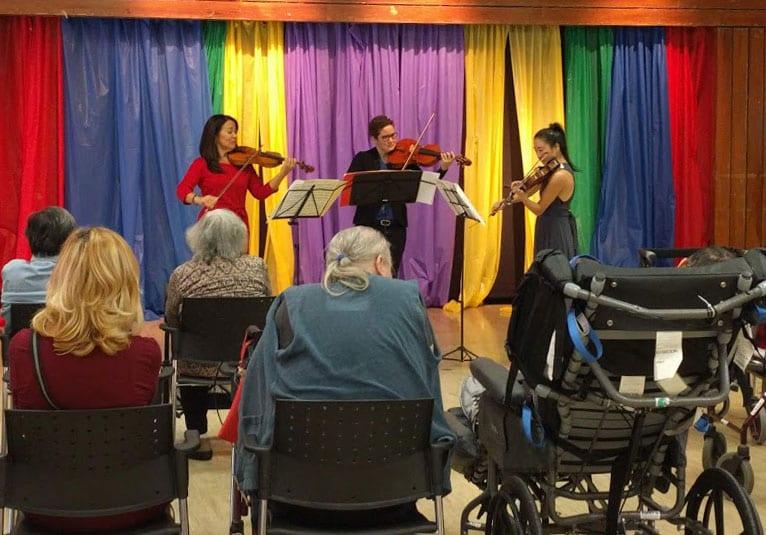 Mayumi Seiler Trio at Castleview Wychwood October